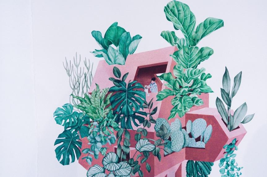 Visita conmigo la exposición de la artista Yukiko Noritake: 'LaMaison'